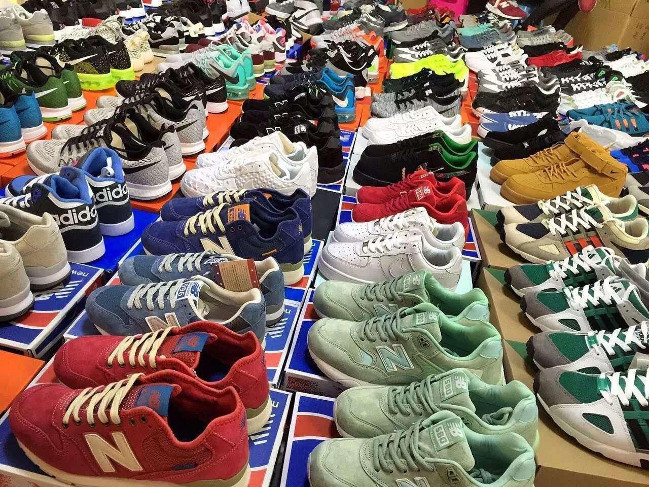 厂家直销耐克阿迪新百伦等名牌鞋
